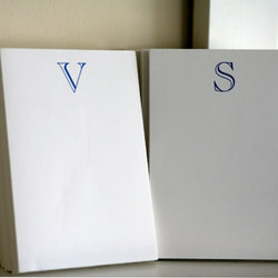 Single Letter Notepads