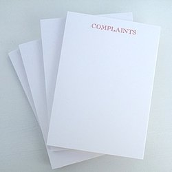 Set of Four Notepads