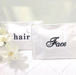 Hair/Face Large Cosmetic Bag