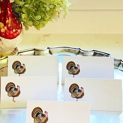 Gobble Gobble Place cards